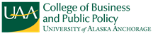 UAA College of Business and Public Policy logo
