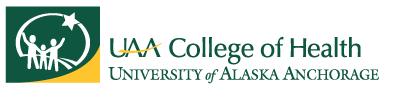 UAA College of Health logo