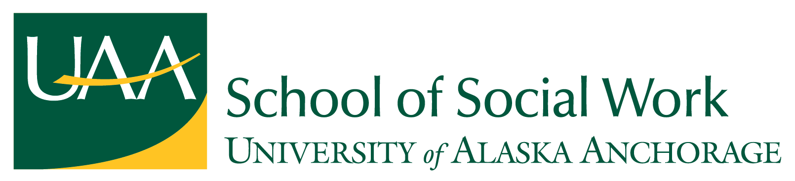 UAA School of Social Work logo